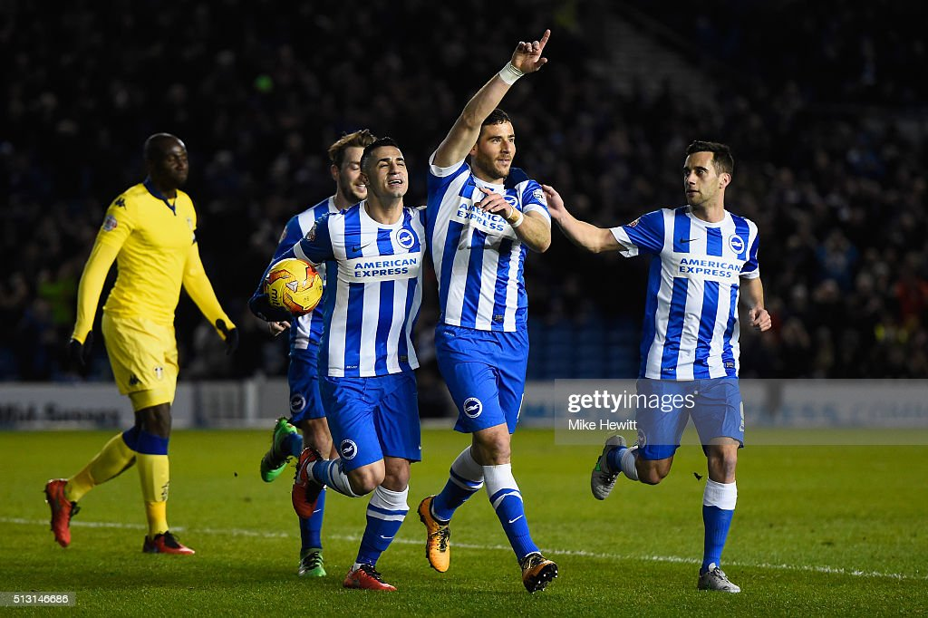 Brighton and Hove Albion v Leeds United - Sky Bet Championship : News Photo