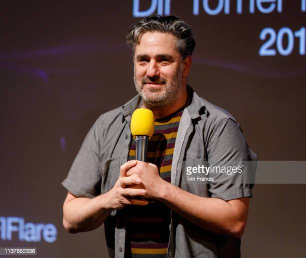 Tomer Heymann attends the 'Jonathan Agassi Saved My Life' screening at the 33rd BFI FLARE Film Festival at BFI Southbank on March 22 2019 in London...