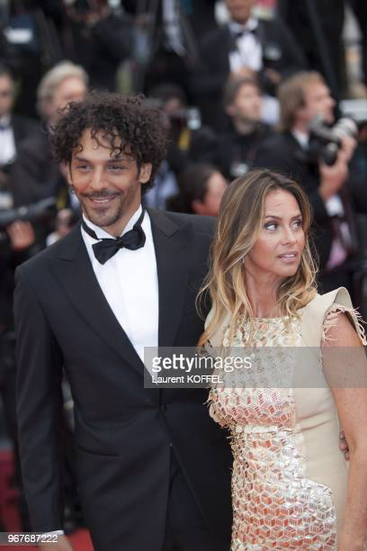 Tomer Sisley and his girlfriend attend 'Inside Llewyn Davis' Premiere during the 66th Annual Cannes Film Festival at Palais des Festivals on May 19...