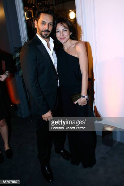 Tomer Sisley and his wife Sandra attend the Annual Charity Dinner hosted by the AEM Association Children of the World for Rwanda at Pavillon Ledoyen...