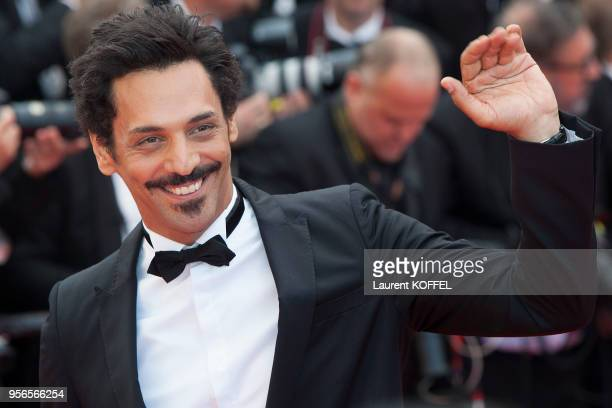 Tomer Sisley attends the 'Money Monster' premiere during the 69th annual Cannes Film Festival at the Palais des Festivals on May 12 2016 in Cannes...