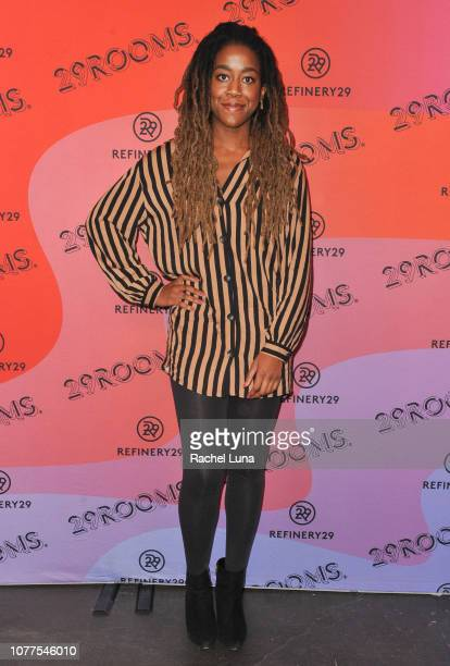 Tomi Adeyemi attends Refinery29's 29Rooms Los Angeles 2018 Expand Your Reality at The Reef on December 04 2018 in Los Angeles California