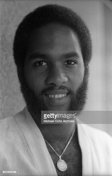 Tomi Jenkins of the RBfun group Cameo poses for a portrait in 1982 in Los Angeles California