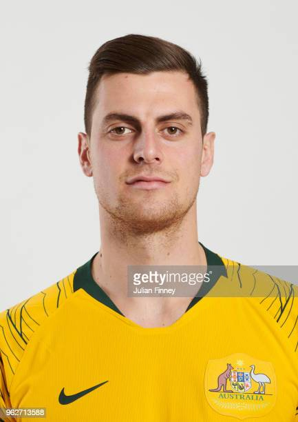 Tomi Juric of Australia poses during the Australia 'Socceroos' Kit Launch on March 24 2018 in Oslo Norway