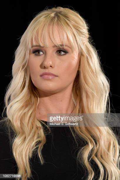 Tomi Lahren speaks onstage at Politicon 2018 at Los Angeles Convention Center on October 21 2018 in Los Angeles California