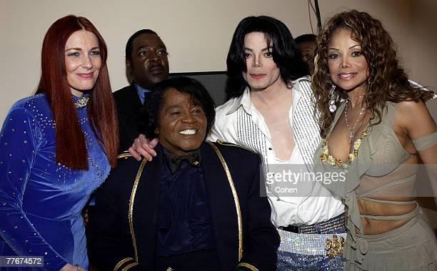 Tomi Rae James Brown Michael Jackson and LaToya Jackson