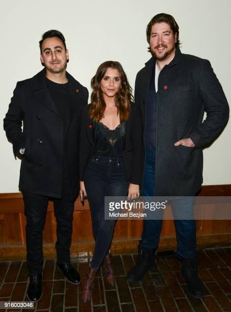 Tomik Mansoori Alexandra Chando and Tanner Bread attend Mammoth Film Festival on February 8 2018 in Mammoth Lakes California