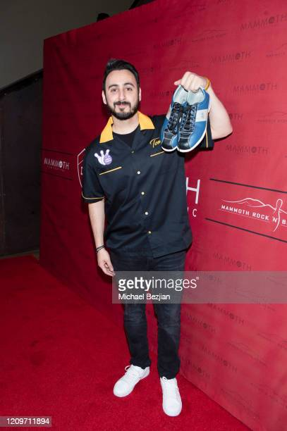 Tomik Mansoori arrives at 3rd Annual Mammoth Film Festival Red Carpet Saturday on February 29 2020 in Mammoth Lakes California