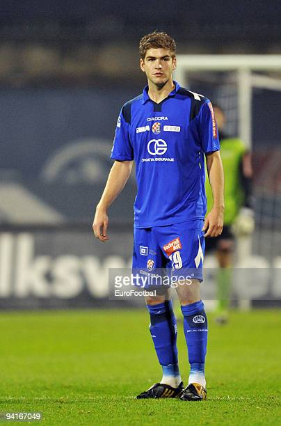 Tomislav Barbaric of NK Dinamo Zagreb during the TCom Prva HNL match between NK Dinamo Zagreb and HNK Cibalia held on October 25 2009 at the Stadion...