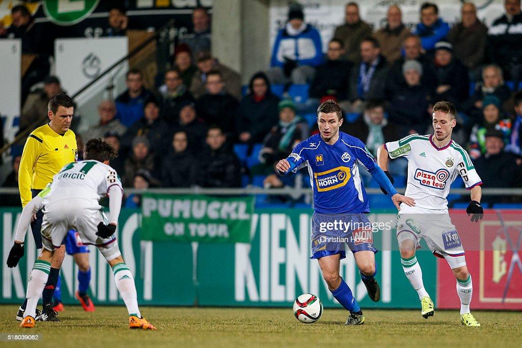 SV Horn v SK Rapid II - Regionalliga Ost : News Photo