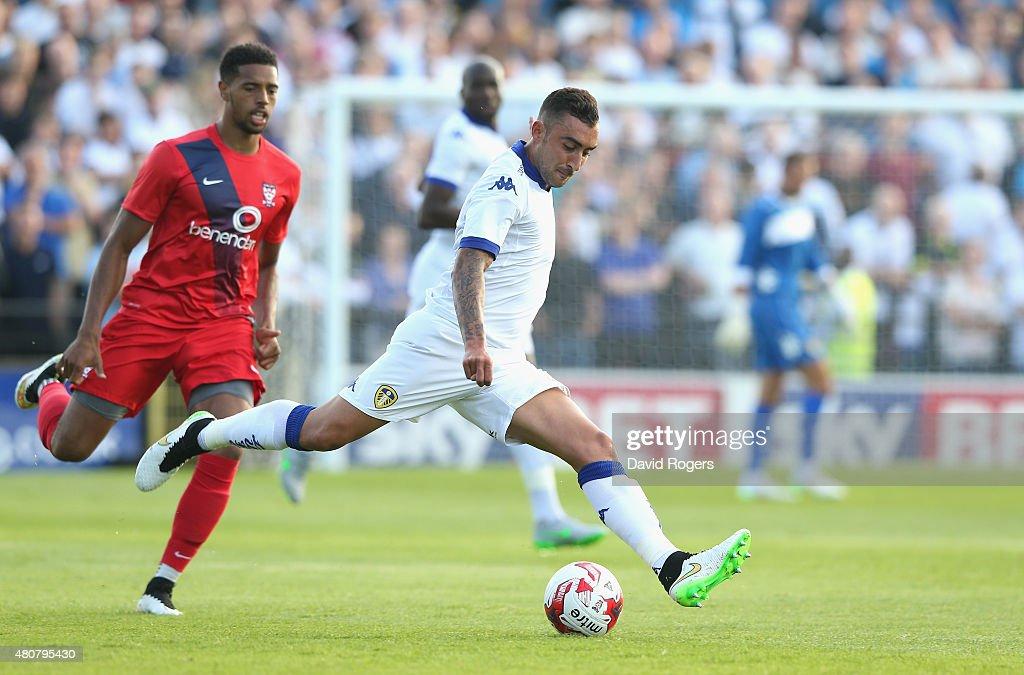 York City v Leeds United - Pre Season Friendly : News Photo