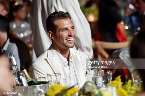 Tommaso Chiabra attends the Unicef Summer Gala Presented by Luisaviaroma afterparty at Villa Violina on August 10 2018 in Porto Cervo Italy