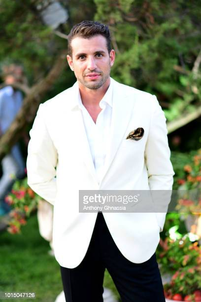 Tommaso Chiabra attends the Unicef Summer Gala Presented by Luisaviaroma cocktail party at Villa Violina on August 10 2018 in Porto Cervo Italy