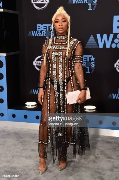 Tommie Lee at the 2017 BET Awards at Microsoft Square on June 25 2017 in Los Angeles California