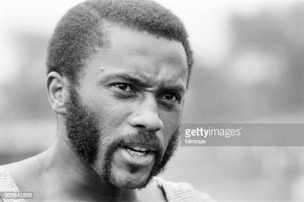 Tommie Smith, American sprinter, the fastest man in the world over 200 metres, in the UK to compete in two events in a 4 event series at the home of...