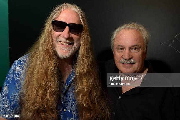 Tommie Sunshine and Giorgio Moroder attend the I Feel Love 40th Anniversary Party presented by Smirnoff Sound Collective Mixmag and Casablanca...