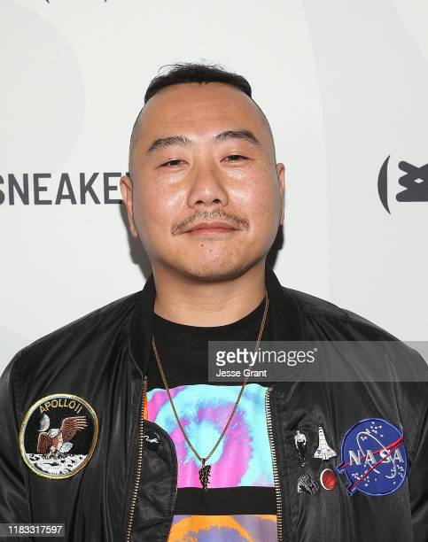 Tommii Lim attends the Sneakertopia Los Angeles VIP Preview at HHLA on October 24 2019 in Los Angeles California