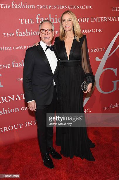 Tommy and Dee Hilfiger attend 2016 Fashion Group International Night Of Stars Gala at Cipriani Wall Street on October 27 2016 in New York City