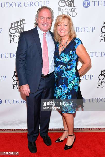 Tommy and Natalie Vigorito attend the 33rd Annual Great Sports Legends Dinner which raised millions of dollars for the Buoniconti Fund to Cure...