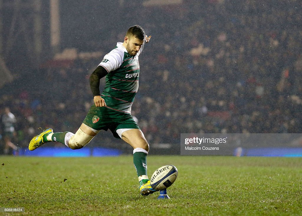 Leicester Tigers v BenettonTreviso - European Champions Cup : News Photo