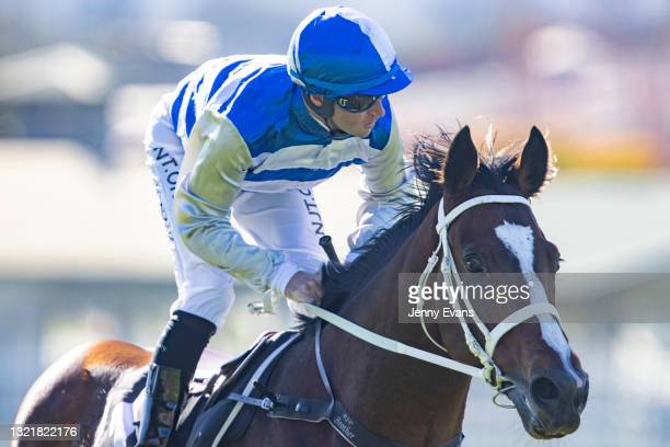 Tommy Berry on Cape Breton returns to scale after winning race 1 the Bowermans Commercial Furniture Handicap during Sydney Racing at Rosehill Gardens...