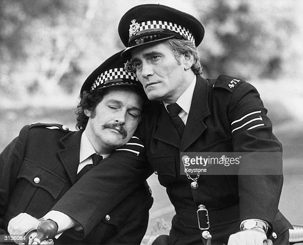 Tommy Cannon and Bobby Ball play two bungling cops in 'The Boys In Blue'.