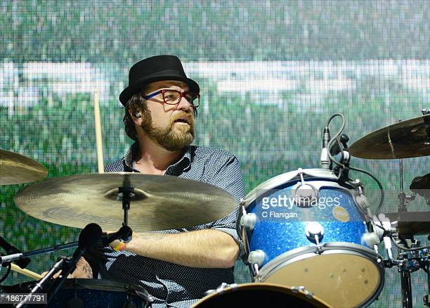 Tommy Cappel of Beats Antique performs during the 2013 Voodoo Music + Arts Experience at City Park on November 3, 2013 in New Orleans, Louisiana.