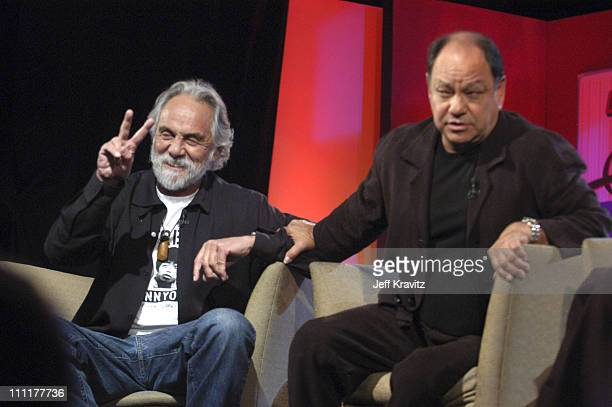 Tommy Chong and Cheech Marin during US Comedy Arts Festival 2005 Cheech and Chong with Xzbit in Aspen Colorado United States