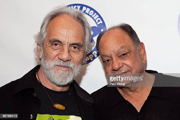 Tommy Chong and Richard Anthony 'Cheech' Marin arrive at The Marijuana Policy Project's 15th Anniversary Gala at the Hyatt Regency on Capitol Hill on...