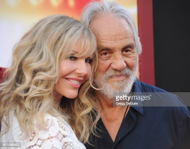 Tommy Chong and Shelby Chong arrive at the premiere of Warner Bros Pictures' The House at TCL Chinese Theatre on June 26 2017 in Hollywood California