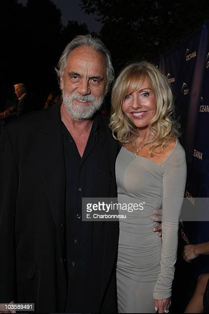 Tommy Chong and Shelby Chong at the Annual Oceana Partner's Award Gala on October 5 2007 in Pacific Palisades California
