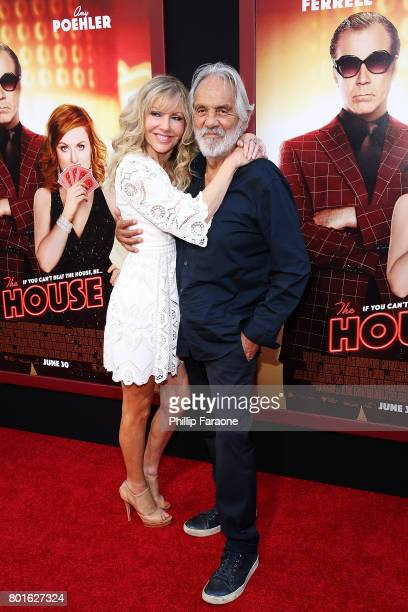 Tommy Chong and Shelby Chong attend the premiere of Warner Bros Pictures' The House at TCL Chinese Theatre on June 26 2017 in Hollywood California