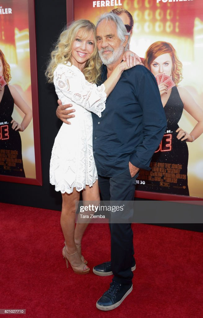 Tommy Chong (R) and Shelby Chong attend the premiere of Warner Bros. Pictures' 'The House' at TCL Chinese Theatre on June 26, 2017 in Hollywood, California.
