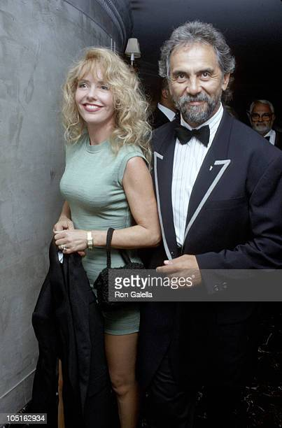 Tommy Chong and wife Shelby during 30th Anniversary Of The Playboy Interviews Party at Laura Bell Restaurant in New York New York United States