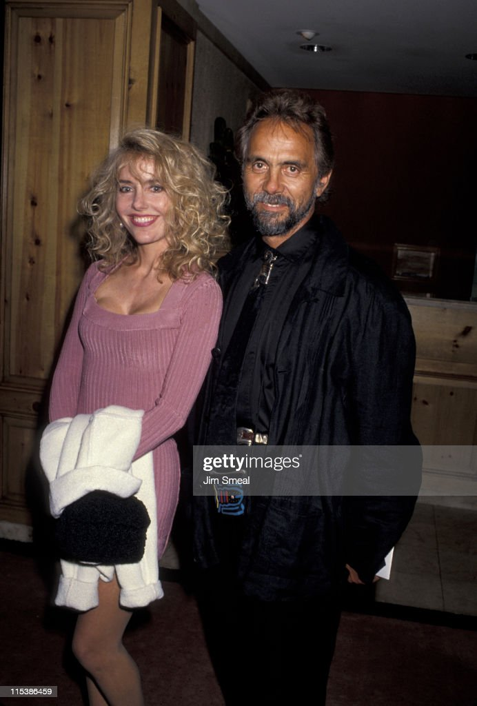 Tommy Chong and wife Shelby during Benefit Fundraiser for John Gary at Bel Age Hotel in West Hollywood, California, United States.
