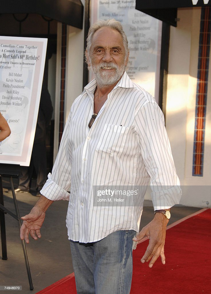 Tommy Chong attends the All-Star Comedy salute to Mort Sahl in honor of his 80th birthday at the Wadsworth Theater, Brentwood on June 28, 2007 in West Los Angeles, California.