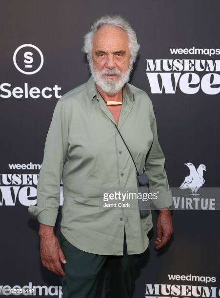 Tommy Chong attends Weedmaps Museum of Weed Exclusive Preview Celebration on August 01, 2019 in Los Angeles, California.