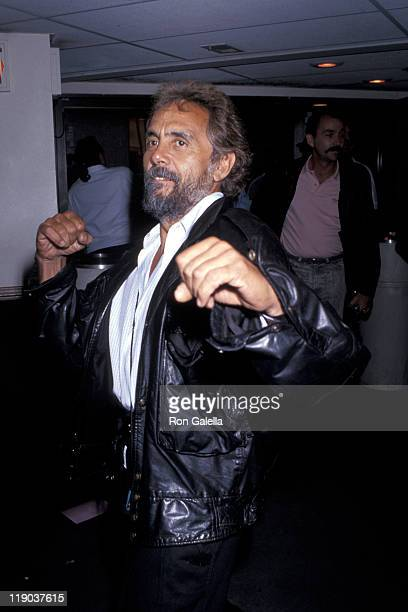 Tommy Chong during Local Boxing Match at The Country Club in Reseda California United States