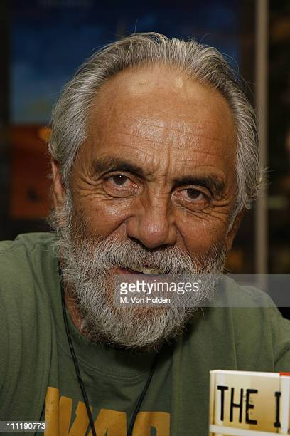 Tommy Chong during Tommy Chong Signs His Book The I Chong Meditations From The Joint at Barnes Noble in New York City August 14 2006 at Barnes Noble...