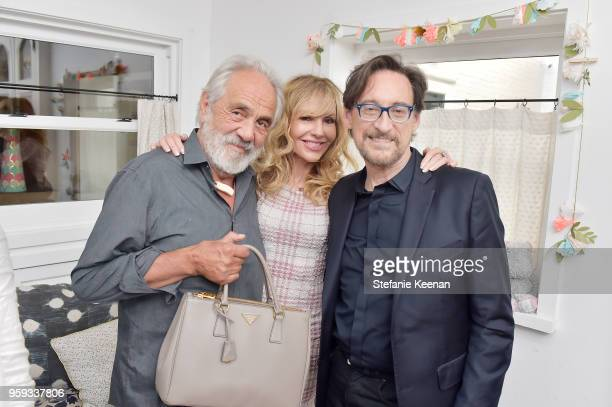 Tommy Chong Shelby Chong and Dr Harvey Karp attend Jessica Biel and Dr Harvey Karp Celebrate Moms Dads and their Favorite Helper the SNOO at Au Fudge...