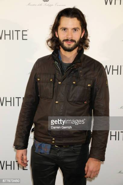 Tommy Clarke attends the WHITE cocktail party hosted by Italian Trade Agency at Ambika P3 on November 23 2017 in London England