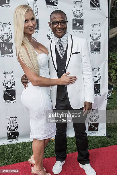 Tommy Davidson and Amanda Davidson attend the 26th Annual Heroes and Legends Awards at Beverly Hills Hotel on September 27 2015 in Beverly Hills...