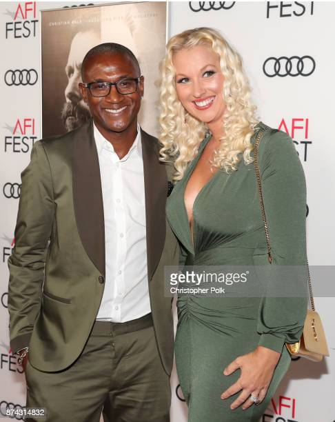 Tommy Davidson and Amanda Moore attend the screening of 'Hostiles' at AFI FEST 2017 Presented By Audi at TCL Chinese Theatre on November 14 2017 in...