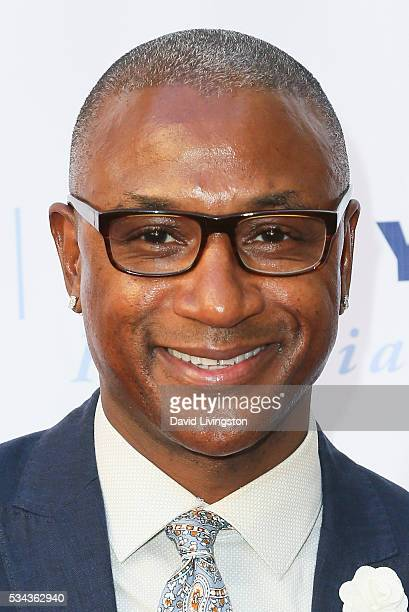 Tommy Davidson arrives at the 7th Annual Big Fighters Big Cause Charity Boxing Night Benefiting The Sugar Ray Leonard Foundation at The Ray Dolby...