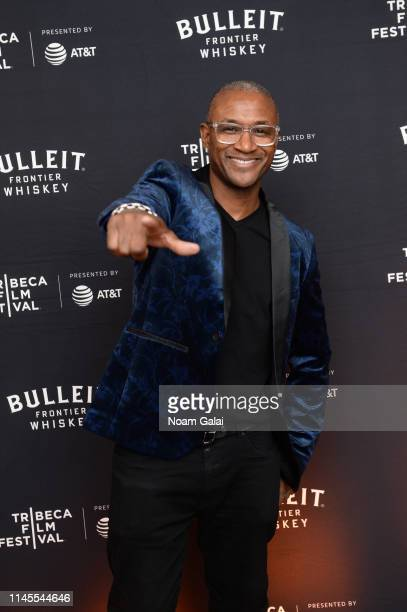 Tommy Davidson at the 25th Anniversary of In Living Color After Party at the Bulleit 3D Printed Frontier Lounge at the Tribeca Film Festival on April...