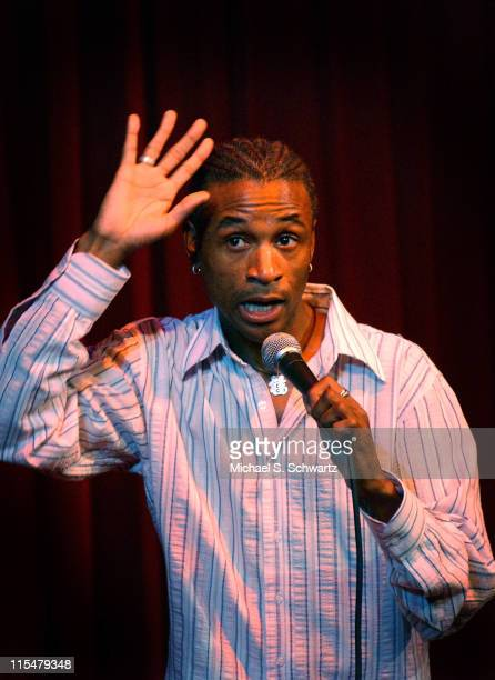 Tommy Davidson during The Comedy Store Hosts Celebrity Fundraiser for the Heartfelt Foundation - Show at The Comedy Store in Hollywood, California,...