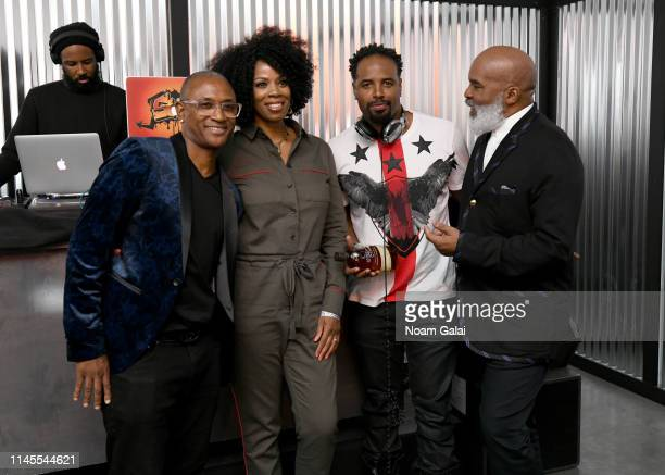 Tommy Davidson Kim Wayans Shawn Wayans and David Alan Grier at the 25th Anniversary of In Living Color After Party at the Bulleit 3D Printed Frontier...