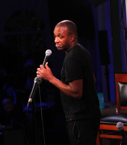 NJ: Comedian Tommy Davidson Performs At Stress Factory Comedy Club