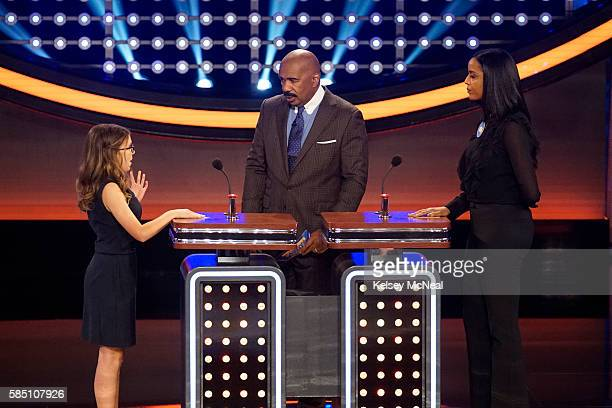 FEUD 'Tommy Davidson vs Kristi Yamaguchi and Dave Foley vs Jalen Rose' The celebrity families competing to win cash for their charities feature the...