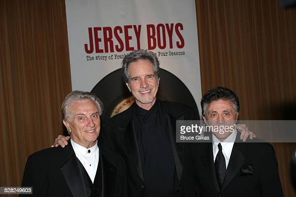 Tommy DeVito Bob Gaudio and Frankie Valli The Four Seasons